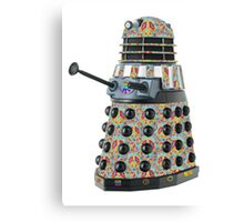 Hippie Hippy Love and Peace Dalek Canvas Print