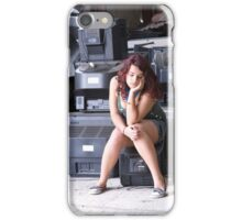 Portrait of a Teenager 27 iPhone Case/Skin