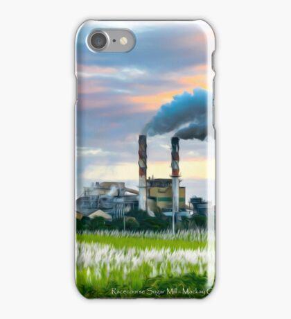 Racecourse Sugar Mill - Mackay, Qld iPhone Case/Skin