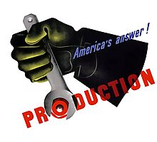 America's Answer! Production -- World War II Photographic Print