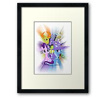 To Where and Back Again Framed Print
