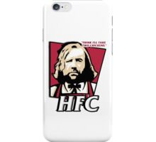 The hound fried chicken (HFC) - Kentucky parody.  iPhone Case/Skin