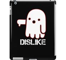Ghost Of Dislike Shirt - Funny Halloween Shirt iPad Case/Skin