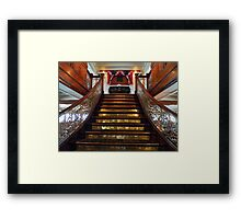 This Way to the Texas Lounge Framed Print