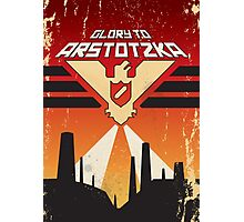 "Papers, Please - Propaganda, Poster ""Glory"" Photographic Print"