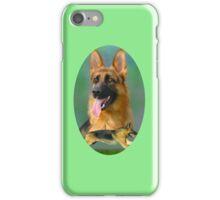 German Shepherd Breed Art iPhone Case/Skin