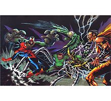 Spider-Man Vs. The Sinister 6  Photographic Print