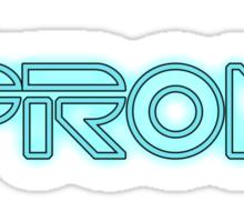 PRON. (Tron parody) Sticker