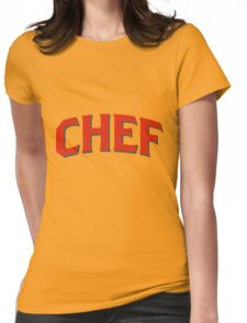 Chef Womens Fitted T-Shirt