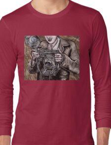 The Camera King Long Sleeve T-Shirt