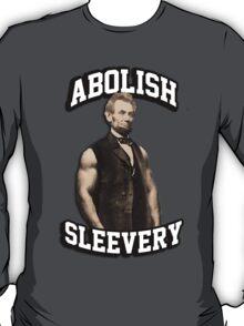 Abraham Lincoln - Abolish Sleevery T-Shirt