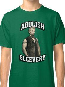 Abraham Lincoln - Abolish Sleevery Classic T-Shirt