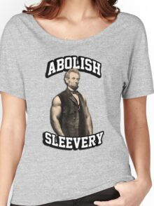 Abraham Lincoln - Abolish Sleevery Women's Relaxed Fit T-Shirt
