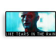 Blade Runner Roy Batty Canvas Print