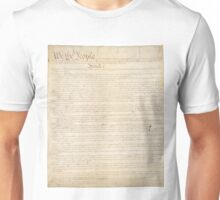 The Constitution of United States of America 1 Unisex T-Shirt