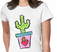 Cactus makes perfect Womens Fitted T-Shirt