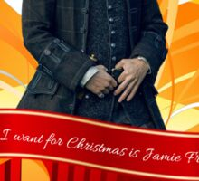 All I want for Christmas is Jamie Fraser!  Sticker