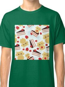 Cute Hamsters with Cakes Classic T-Shirt