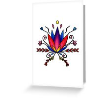 Zen Growth Greeting Card