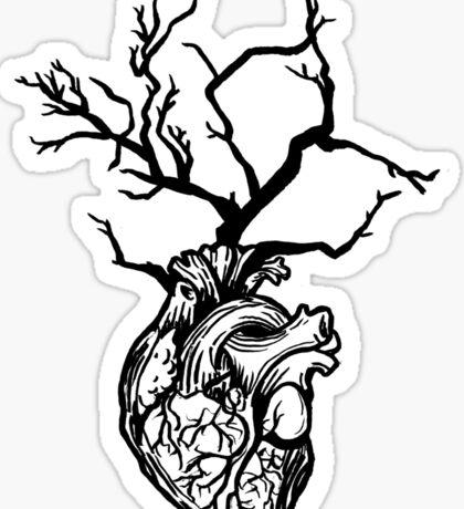 heartwood tree Sticker