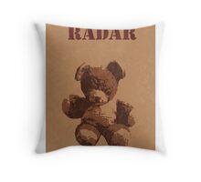 Radar O'Reilly M*A*S*H Teddy Throw Pillow