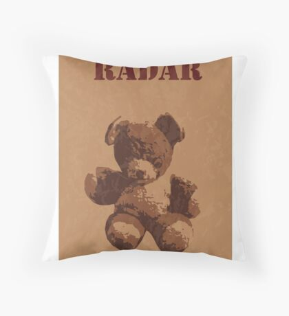 Radar O'Reilly M*A*S*H Teddy Throw Pillow
