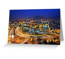 Nights in Kayseri - Turkey Greeting Card