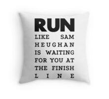 RUN - Sam Heughan Throw Pillow