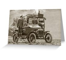 Model T of War  Greeting Card