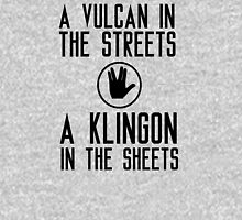 I am a vulcan in the streets and a klingon in the sheets Tank Top
