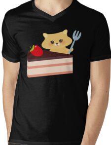 Cute Hamster  Mens V-Neck T-Shirt
