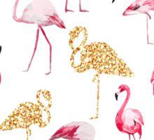 Flamingo sparkle Sticker