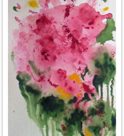 Bouquet, abstract floral Sticker