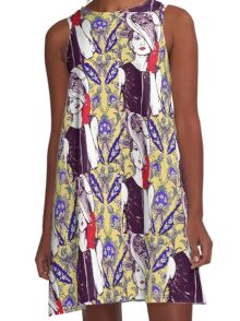 ladies at the races 2 A-Line Dress