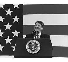 President Reagan  Photographic Print