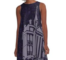 Haunted Mansion - West Coast Edition A-Line Dress