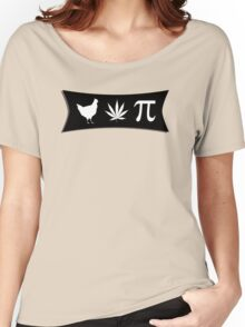 Chicken pot pi (pie) - funny tshirt Women's Relaxed Fit T-Shirt