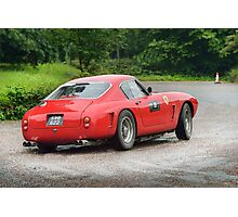 The Three Castles Welsh Trial 2014 - Ferrari 250 GT SWB Photographic Print