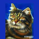 Cathy the cat by paintingsbycr10