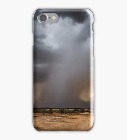 Microburst at Beacon, Western Australia iPhone Case/Skin