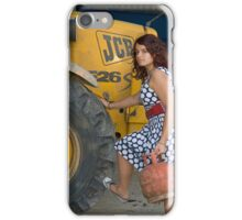 Portrait of a Teenager 24 iPhone Case/Skin