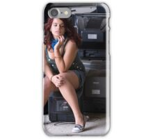 Portrait of a Teenager 26 iPhone Case/Skin