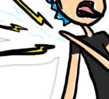 Pain Inflicting Shoulder Demon Sticker