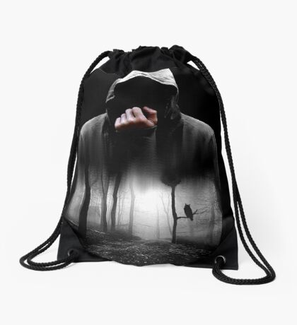 end games Drawstring Bag