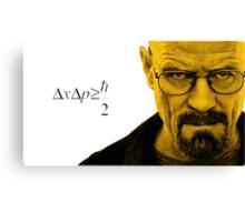 Heisenberg Uncertainty Principle Canvas Print