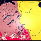 The Kiss III -(280814)- Digital artwork: MS Paint/Mouse Drawn by paulramnora