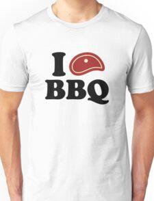I Love BBQ Unisex T-Shirt