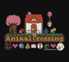 Animal Crossing home sampler One Piece - Short Sleeve