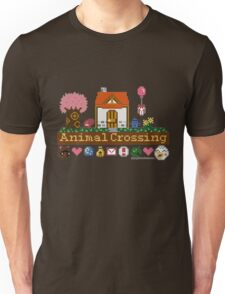 Animal Crossing home sampler Unisex T-Shirt