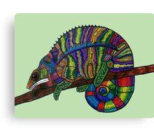 Unconventional Reptile Canvas Print